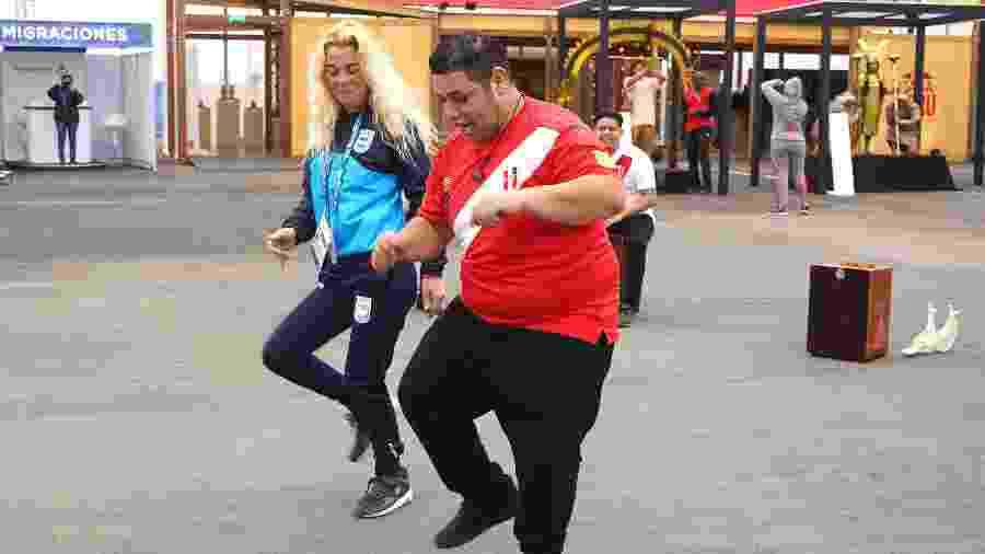 Dança na Vila Pan-Americana dos Jogos em Lima, no Peru - Lima 2019/juegos
