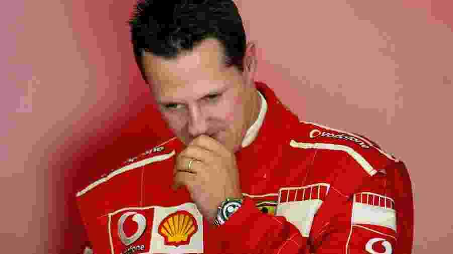 Michael Schumacher sofreu um acidente de esqui em dezembro de 2013  - JOSE LUIS ROCA / AFP