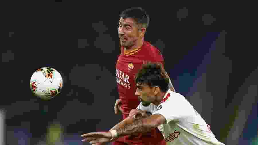 Lucas Paquetá, do Milan, em partida contra a Roma - Divulgação/AC Milan