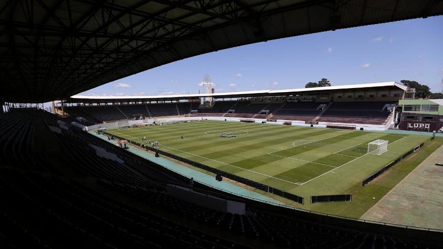 Estádio Fonte Luminosa, em Araraquara, pode receber o Corinthians na semana que vem  - Divulgação/SE Palmeiras