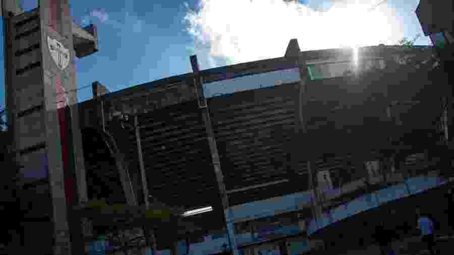 Estádio da Portuguesa, em registro de 9 de maio de 2020, pode ser casa provisória do Santo André na Série A1 - Cristiano Fukuyama