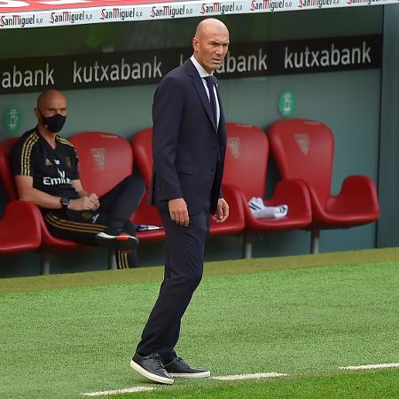 Zidane disse que o time está pronto mesmo com neve - ANDER GILLENEA / AFP