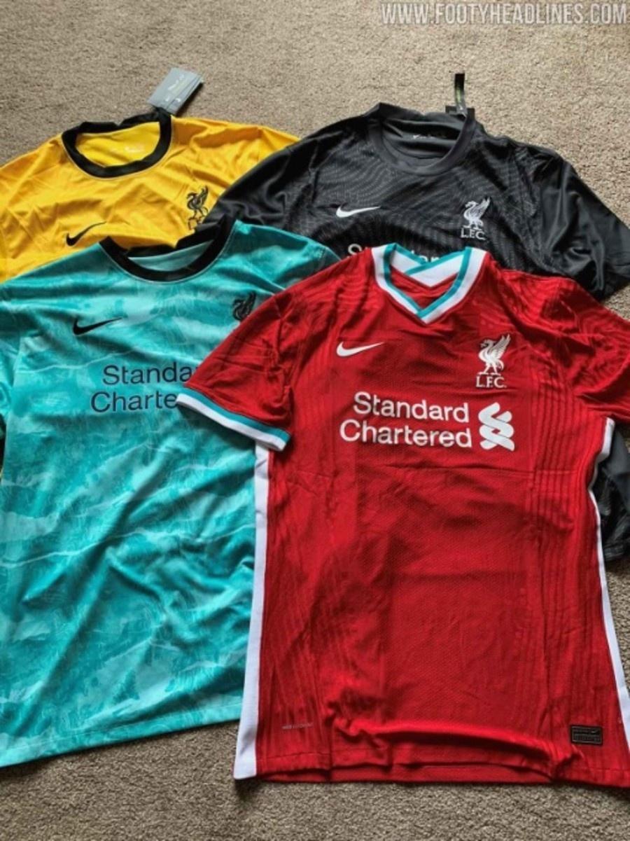 Site Exibe Foto De Possiveis Novas Camisas Do Liverpool Para 2020 2021
