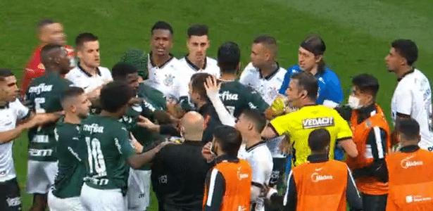 Mesmo com jogo fraco, Corinthians x Palmeiras chega aos 38 pontos na Globo