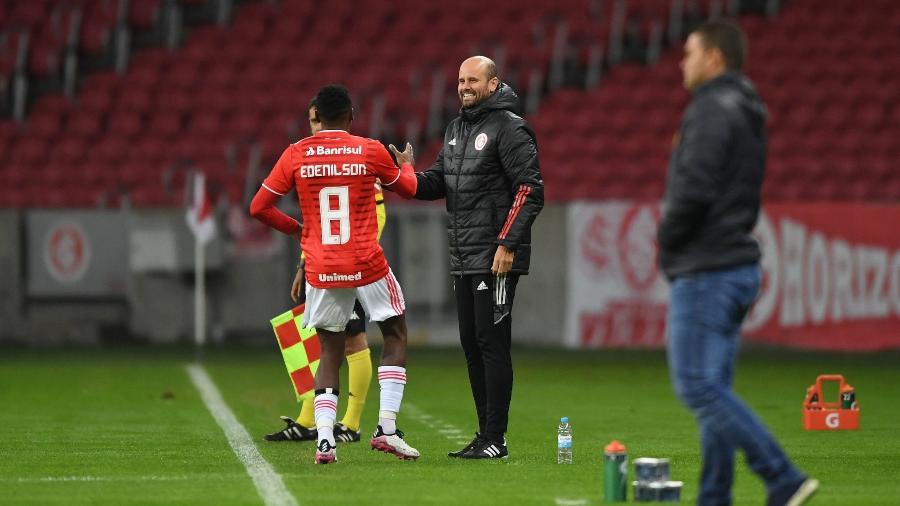 Edenilson é um dos jogadores que foi titular mais vezes com Miguel Ángel Ramírez no Inter - Ricardo Duarte/Inter