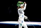 Ex-companheira de equipe foi algoz de brasileira na esgrima nas Olimpíadas