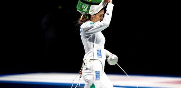 Nathalie Moellhausen   Ex-companheira de equipe foi algoz de brasileira na esgrima