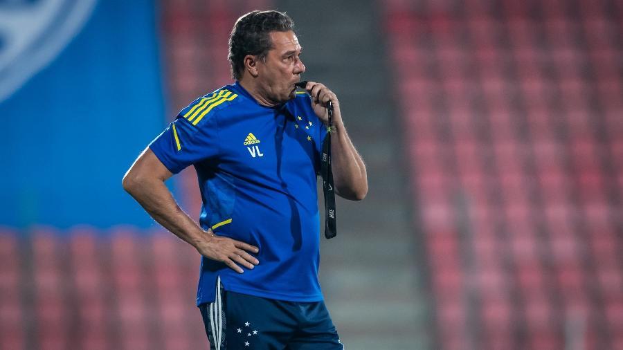 Luxemburgo fica na bronca com dono do apito no jogo do Cruzeiro contra o Operário - Bruno Haddad/Cruzeiro