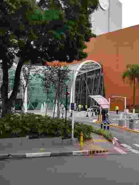 Hospital Israelita Albert Einstein, em São Paulo, onde Pelé está internado - Arthur Sandes/UOL - Arthur Sandes/UOL