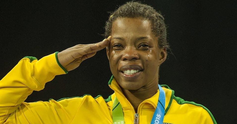 Joice Souza conquistou a medalha de ouro na luta livre feminina até 58kg