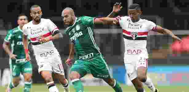 Atacante começou a partida como titular do Palmeiras no clássico do último domingo - Cesar Greco/Ag Palmeiras