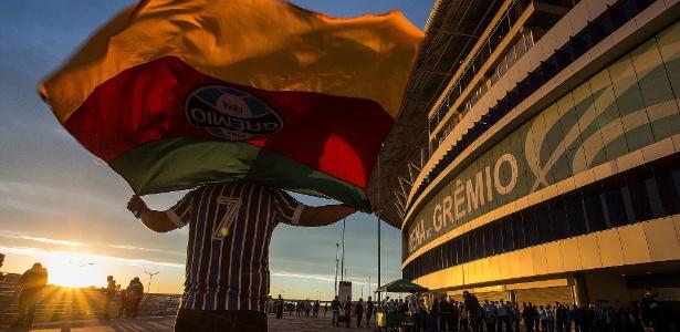 Torcedor será recepcionado por atrações na Arena do Grêmio em final - Lucas Uebel/Grêmio
