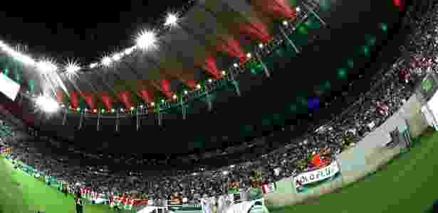Fluminense tem pendência a ser resolvida com a concessionária que gere o estádio - NELSON PEREZ/FLUMINENSE F.C.