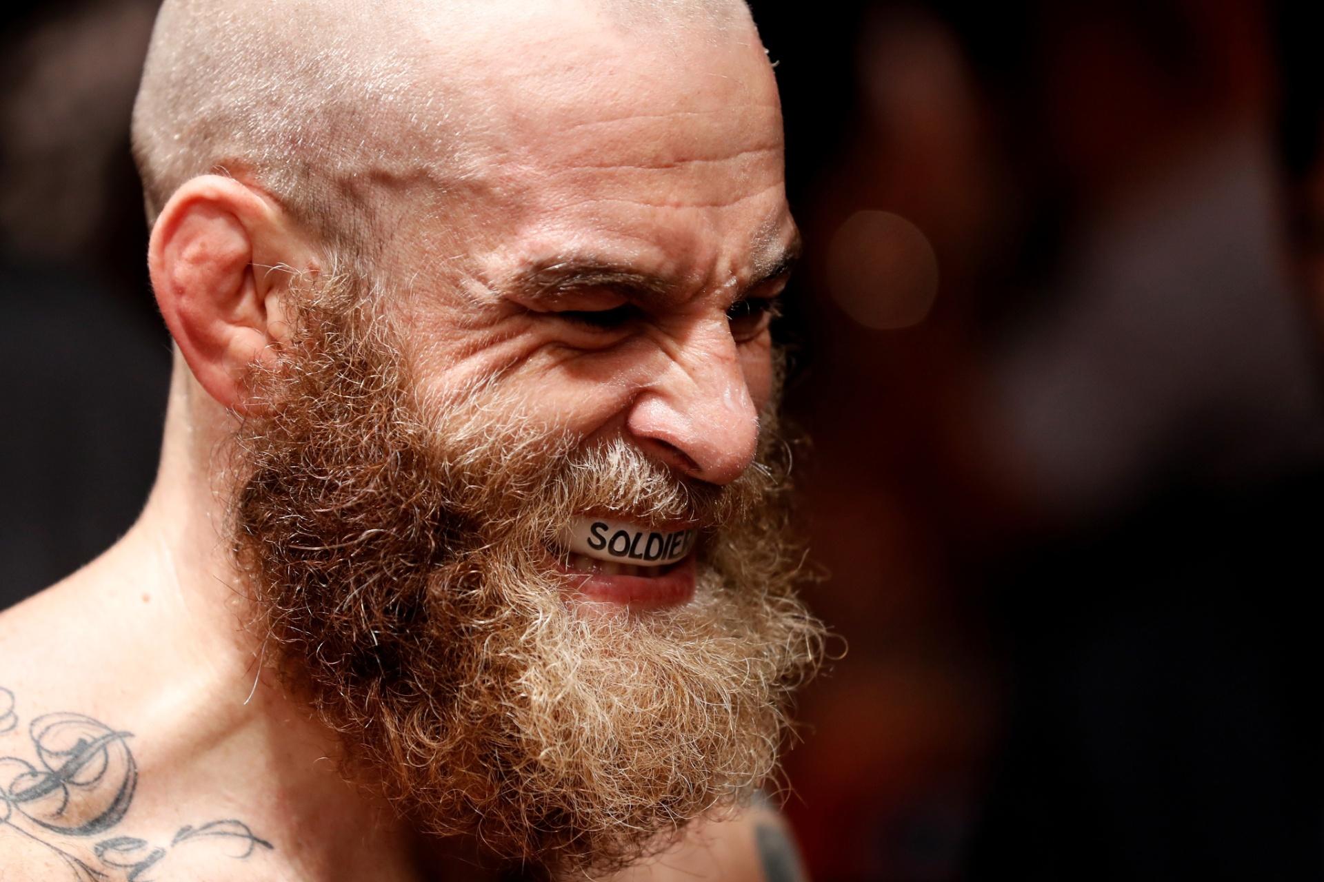 Garreth McLellan, lutador sul-africano se prepara para enfrentar Paulo Borrachinha no UFC