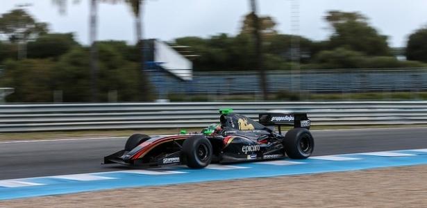 Damiano Fioravanti (foto), da Il Barone Rampante, liderou sessão pela manhã - World Series Formula V8 3.5/Divulgação