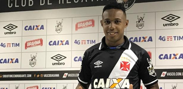 Wellington se tornou titular absoluto do Vasco com o técnico Zé Ricardo