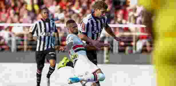 Jogo contra o Atlético-MG foi o estopim para Lucão desejar a saída do SP - Marcello Zambrana/AGIF