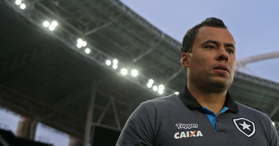 Jair Ventura, durante derrota do Botafogo contra o Fluminense