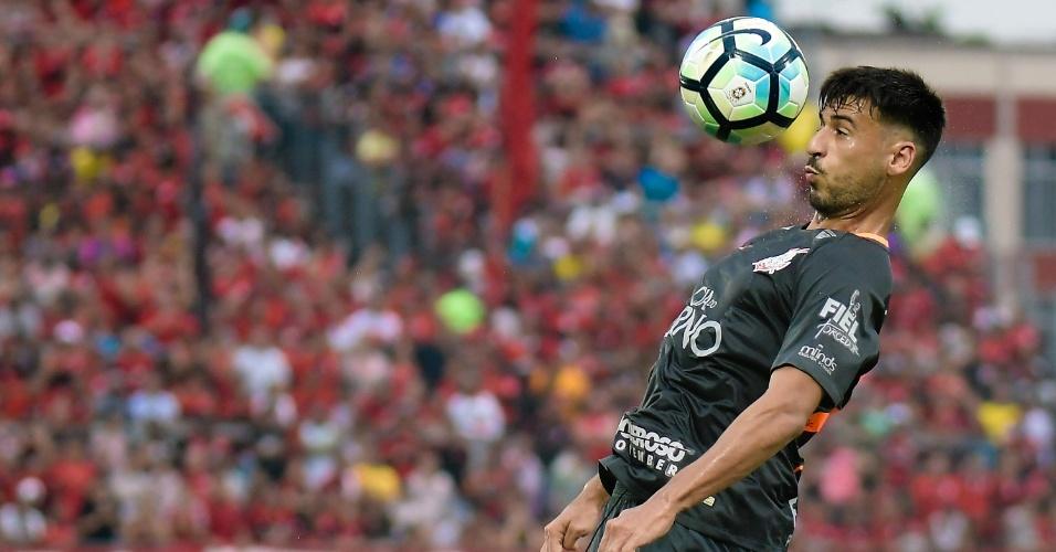 Camacho, durante derrota do Corinthians contra o Flamengo