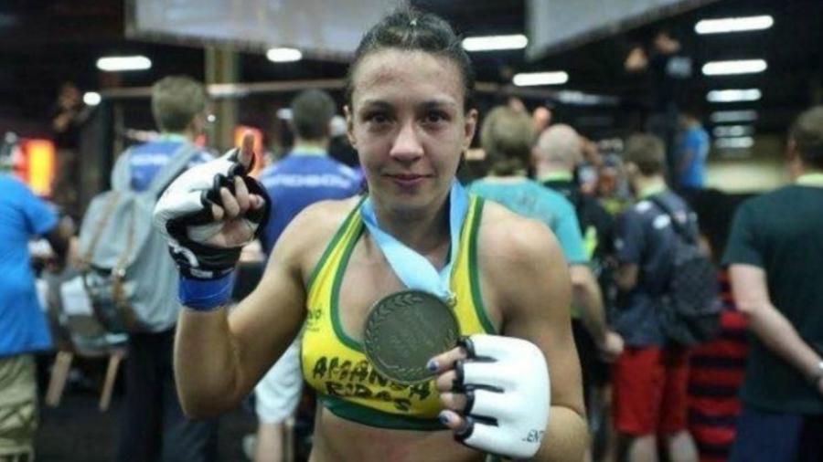 Amanda Ribas contraiu covid e desfalca card do UFC em Las Vegas - Reprodução/Facebook