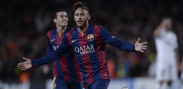 Hoje no PSG, Neymar teve passagem marcante pelo Barcelona - JOSEP LAGO/AFP