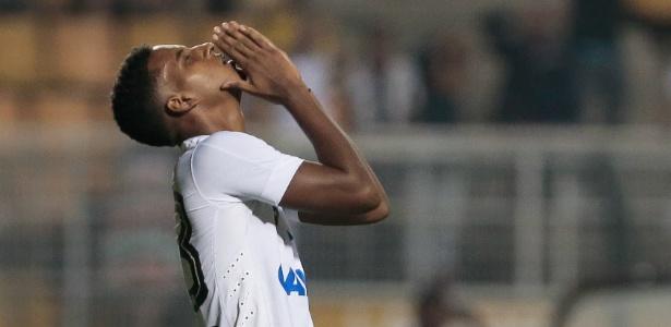 Rodrygo brilhou em dois jogos e depois perdeu espaço com o técnico Jair Ventura