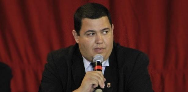 Presidente Leonardo Oliveira (na foto) vive um racha com o empresário Carlos Werner
