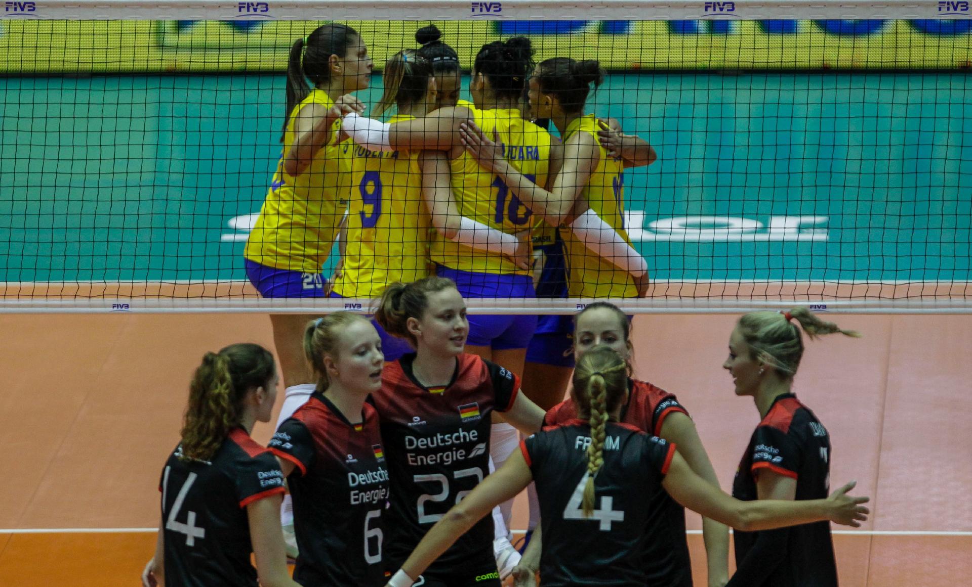 71c10c95b9 Brasil comemora ponto sobre a Alemanha em jogo pela Liga das Nações