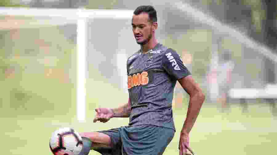 Réver, zagueiro do Atlético-MG, ganhou o grupo com postura de liderança - Bruno Cantini/Atlético-MG