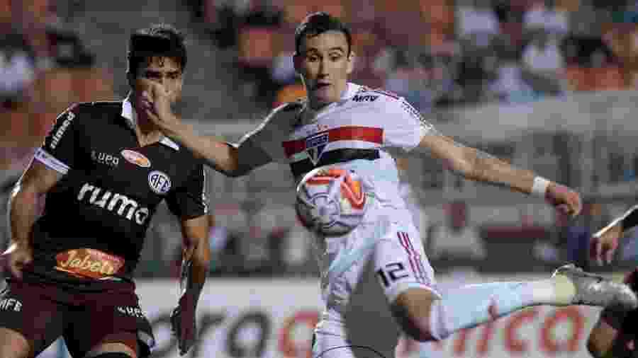 Atacante Pablo em ação pelo São Paulo - Marcello Zambrana/AGIF