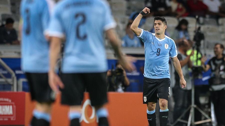 Suárez é um dos experientes uruguaios na disputa da Copa América - Thomás Santos/AGIF