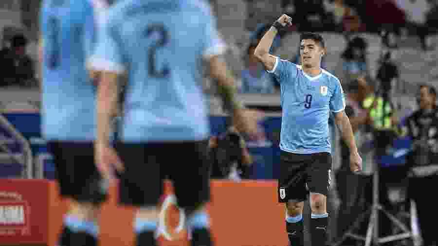 Luis Suárez, atacante do Barcelona, tem dois gols marcados pelo Uruguai nesta Copa América - Thomás Santos/AGIF