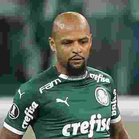 Felipe Melo batalha para voltar ao time no sábado - Cesar Greco/Ag Palmeiras/Divulgação