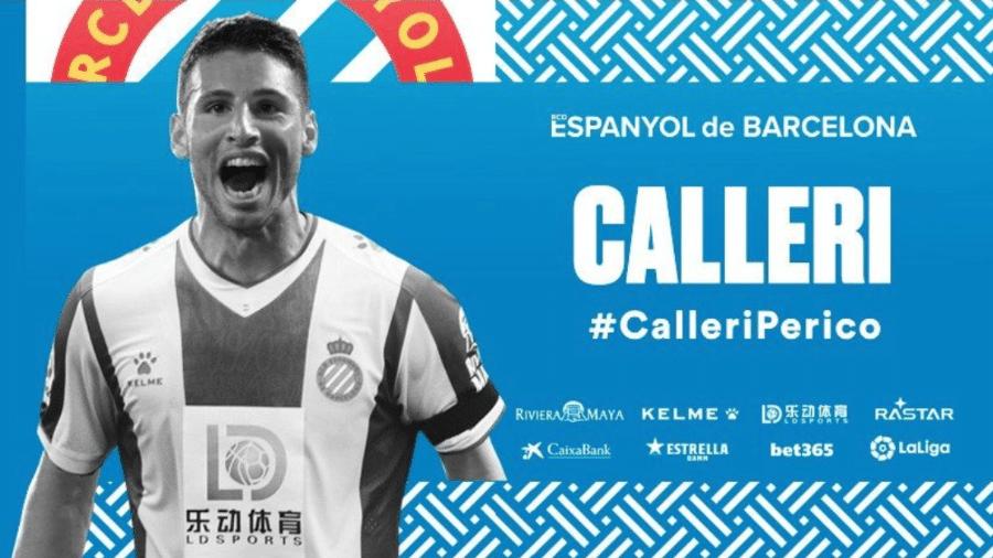 Calleri é anunciado como reforço do Espanyol - Reprodução/Twitter