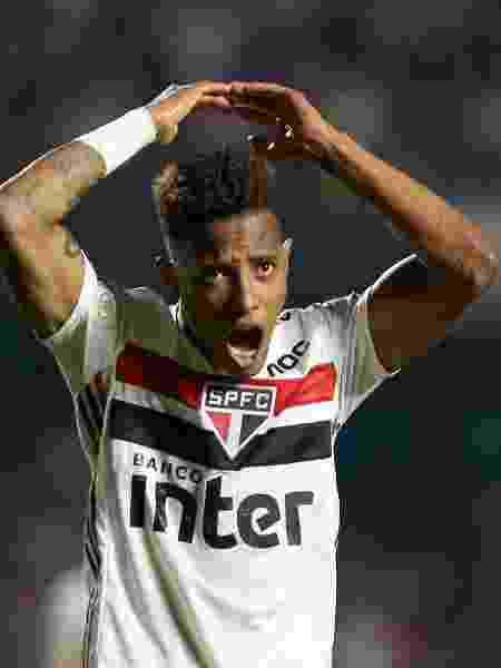 Tchê Tchê comemora gol marcado pelo São Paulo contra o Palmeiras, no Brasileirão 2019 - Marcello Zambrana/AGIF