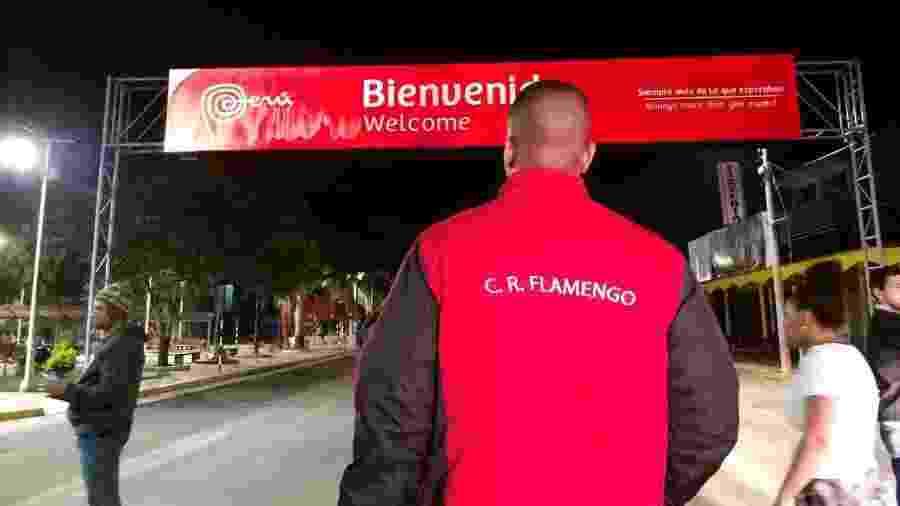 Flamenguista chega ao Peru; brasileiros lideram ranking da América Latina de fãs de futebol que viajam para ver seus clubes - Diego Salgado/UOL
