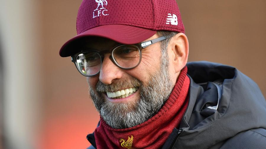 Jurgen Klopp, técnico do Liverpool - Paul Ellis/AFP
