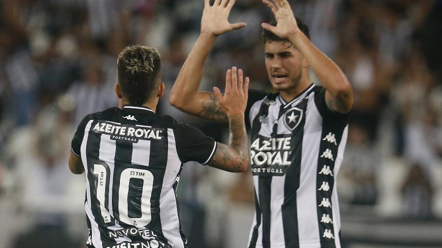 Pedro Raúl e Bruno Nazário são os principais destaques neste início de temporada - Vitor Silva/Botafogo
