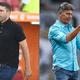 Conduta aproxima Coudet e Renato antes de novo duelo pela Libertadores