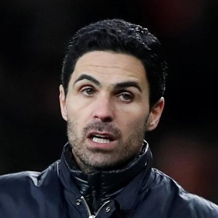 Mikel Arteta, técnico do Arsenal - Paul Childs/Reuters