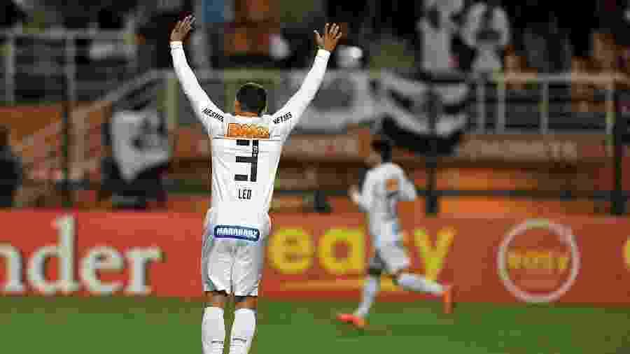 Léo, ex-lateral esquerdo do Santos - Ivan Storti/Santos FC