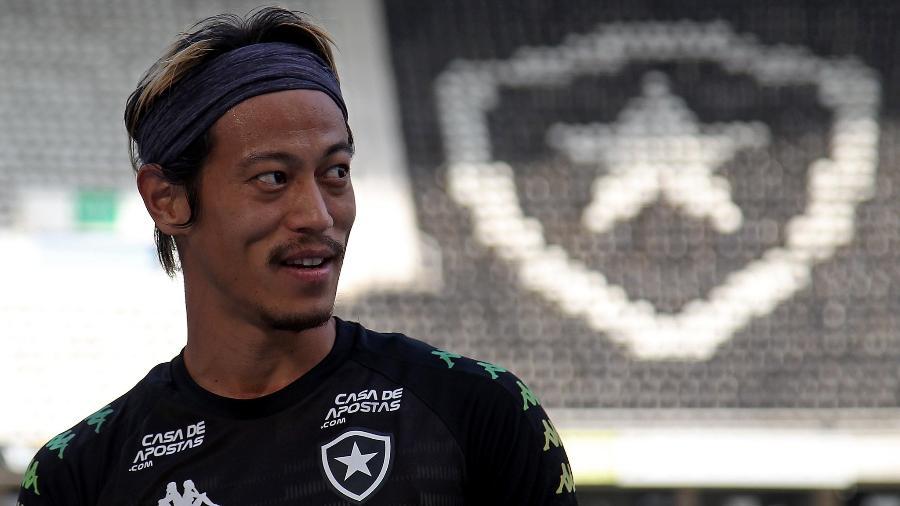 Honda, meia do Botafogo - Vitor Silva / Botafogo