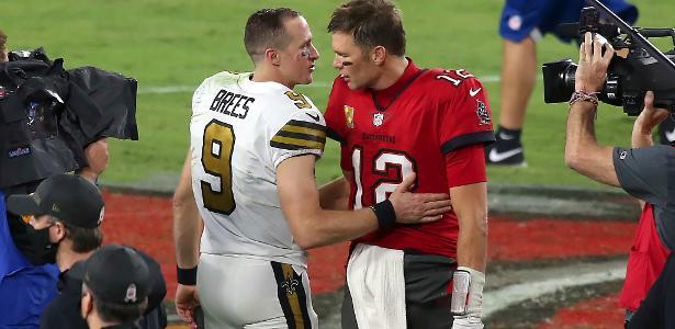 Porque o duelo Brady x Brees deste domingo deve ficar na história da NFL