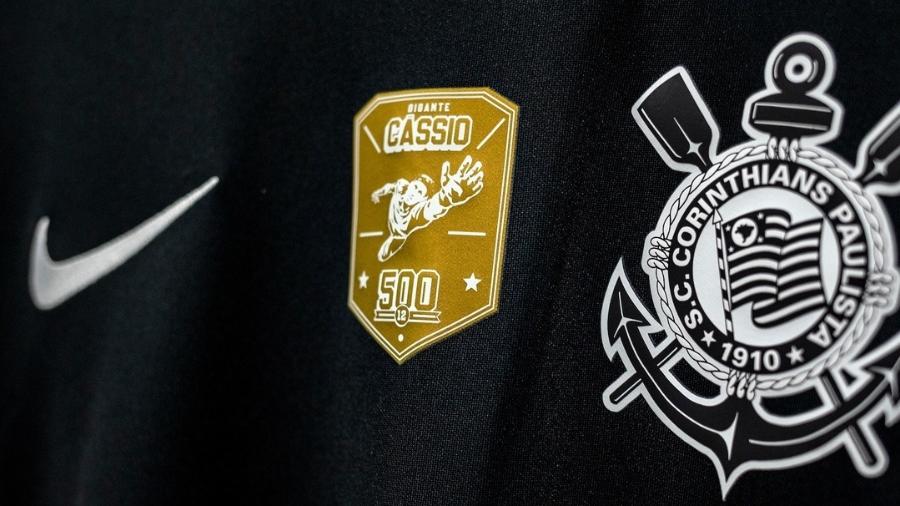 Cássio ganha camisa comemorativa em homenagem aos seus 500 jogos no Corinthians - Reprodução/Instagram/Corinthians