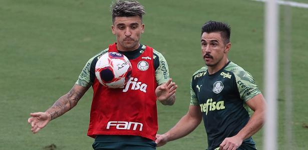 Palmeiras prepara Victor Luis e Papagaio para início do Campeonato Paulista