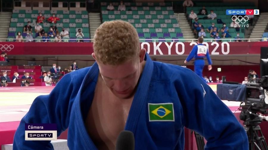 Rafael Buzacarini perde para o belga Toma Nikiforov e está eliminado das Olimpíadas - Transmissão