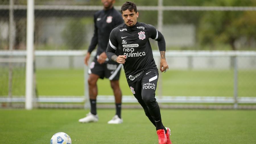 O lateral direito Fagner, em ação durante treino do Corinthians - Rodrigo Coca/Agência Corinthians