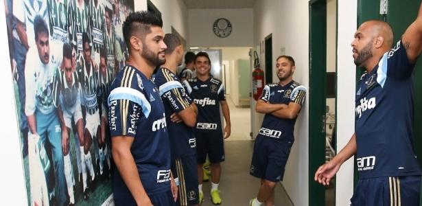 Luan não atua pelo Palmeiras desde fevereiro de 2013 e terá chances no time atual