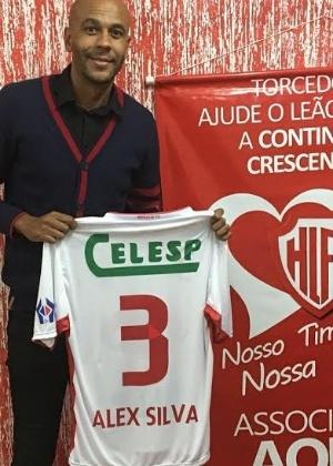 Último clube de zagueiro foi o Hercílio Luz, quarto colocado da segunda divisão de SC - Divulgação / Hercílio Luz