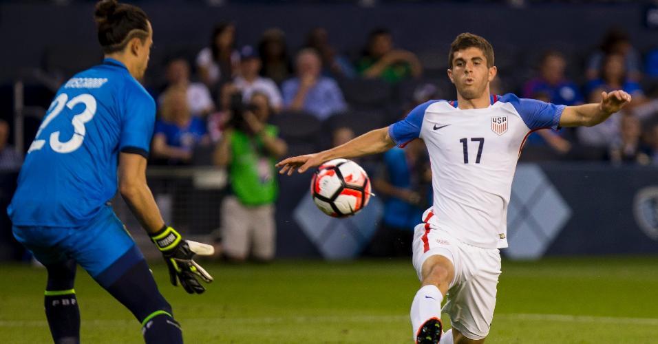 Pulisic, uma das apostas dos Estados Unidos na Copa América